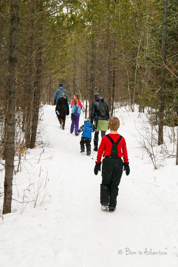 Family Winter Hiking