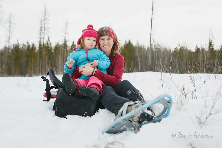 Snow Shoeing with Kids