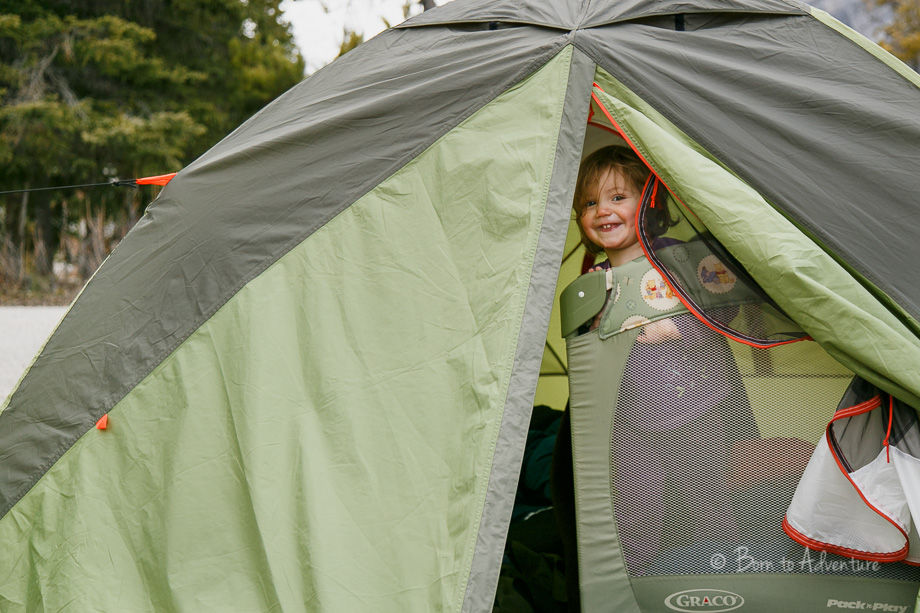 Tenting with kids