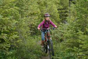 kid mountain biking