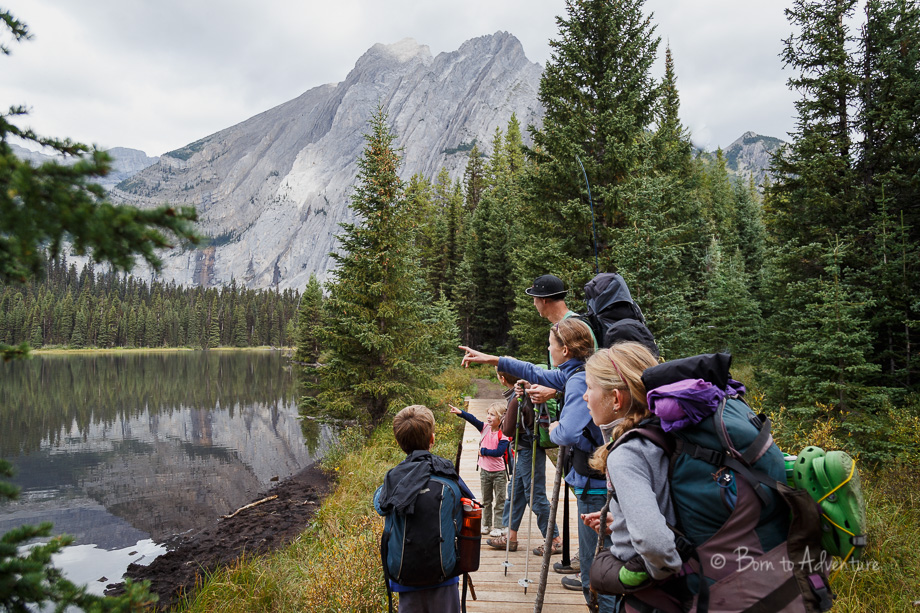 Family Backpacking in Elk Lakes Provincial Park