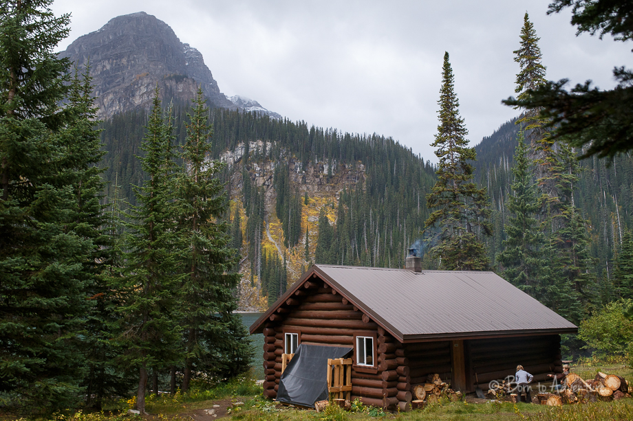 fish lake backcountry cabin